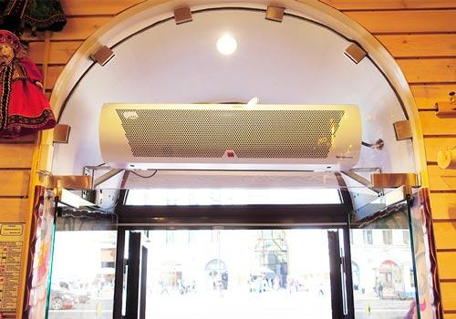 Рейтинг: ТОП-16 лучших тепловых завес для кафе