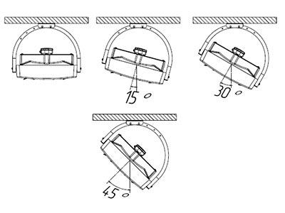 Горизонтальный монтаж Ballu BHP-W3-25-LN