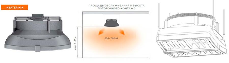 Дестратификатор Heater Mix