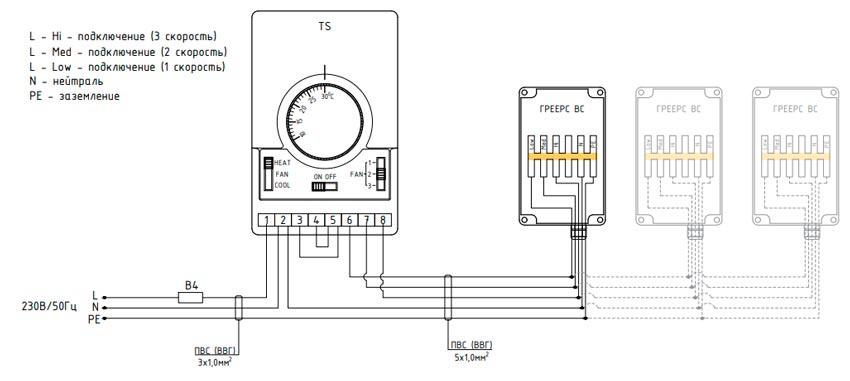 Схема с регулятором TDS