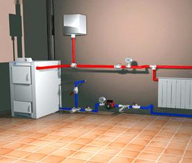 системы отопления промышленных зданий