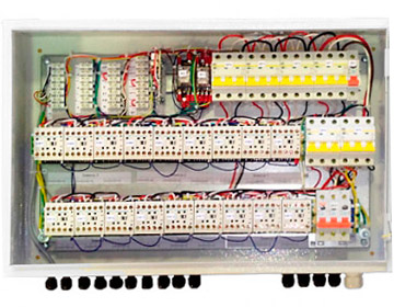 Блок коммутации и управления завес с IP54 БКУ-WA6