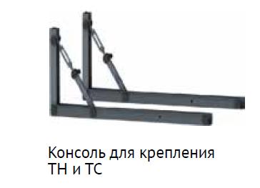Комплект консолей для серий TC и TH