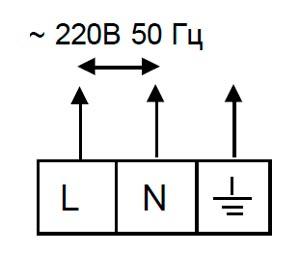 Электрическая схема подключения Tropik Line А3