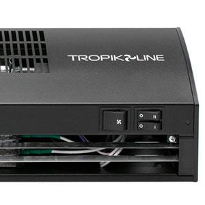 Клавишные переключатели завесы Tropik Line А9 black