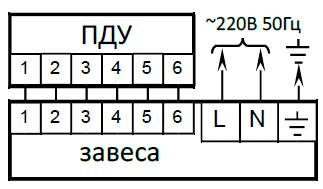 Подключение Tropik Line М 3 к однофазной электросети и пульту