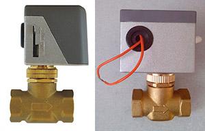 Двухходовый клапан NVMZ с сервоприводом
