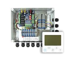Блок диспетчеризации МК для тепловых завес